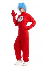Adult Dr Seuss Thing 1 Thing 2 Costume