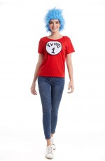 Women Dr Seuss Cat In The Hat Thing Costume