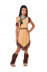 Native Indian Girls Costume