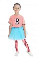 Pink Billie B Brown Dress Up Costume T-shirt