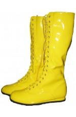 Yellow Go Go Boots