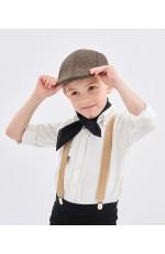 Coffee Victorian boy colonial boy costume cap hat
