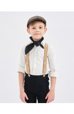 Victorian Boy Colonial Braces