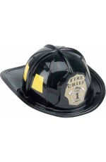 Fireman Helmet Firefighter Firehouse Costume Dress Up Party Plastic Halloween Cap Hat Accessory