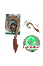 Moana Waialiki Maui Heihei Weapons Fish Hook Lights Music Action Figures Toy Lightsaber Movie Accessary Bookweek