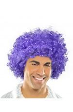 Funky Purple Unisex Afro Wig