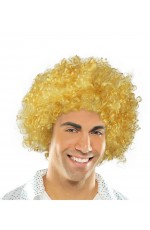 Funky Yellow Unisex Afro Wig