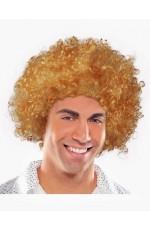 Funky Dark Brown Unisex Afro Wig
