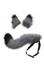 Fox Wolf Tails and Ears Costume Accessory