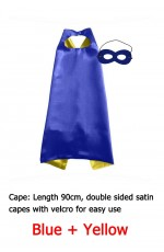 Double sided Cape & Mask Costume set
