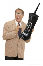 "28"" Inflatable Retro 1980s Mobile Phone"