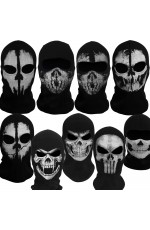 Ghost Skull Balaclava Skeleton Full Face Mask