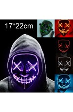 LED Light Up Glowing Mask