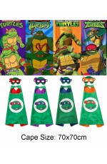 Kids TMNT Cape and Mask Set