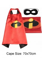 Kids The Incredibles Cape and Mask Set tt1136