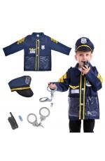 Kids Police Force Costume