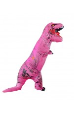 Pink T-REX INFLATABLE Costume