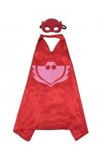 Red PJ masks Gekko Costume