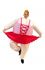 ballet dancer inflatable costume