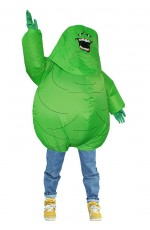 Ghostbusters 80s Green monster carry me inflatable costume