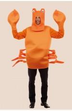 Orange King Crab Costume
