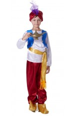 Boys Arabian Genie Aladdin Arab Prince Costume Childrens Kids Book Week Fancy Dress Costume