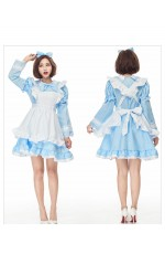Ladies Alice in Wonderland Costume Book Week Fancy Party Dress