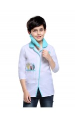 Kids Occupation Uniform Costume Doctor Surgeon Hospital Scientist School Children