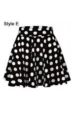 Ladies Black POLKA DOT Skirt