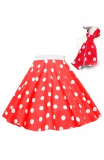 1950's Rock n Roll Dot Style skirt