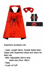Spider Cape & Mask Costume set