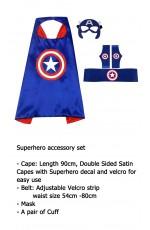 Captain America Cape & Mask Costume set