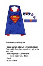 Superman Cape & Mask Costume set