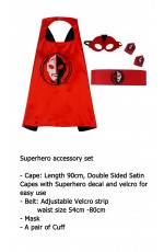 Ultraman Cape & Mask Costume set
