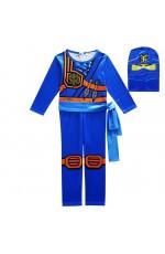 Blue Ninjago Kids Costume