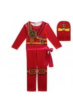 Red Ninjago Kids Costume