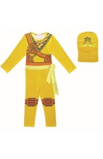 Yellow Ninjago Kids Costume