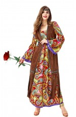 Womens 70s Hippie Groovy Costume Spotlight