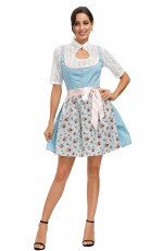 German Oktoberfest Beer Maid Costume