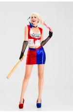 Supervillain Harley Quinn Harlequin Suicide Squad Costume