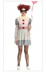 Pennywise IT Vintage Clown Ladies Costume
