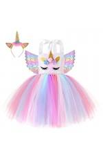 Unicorn Tulle Tutu Dress