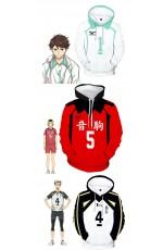 Haikyu Volleyball Sports Jersey Uniform Cosplay Costume