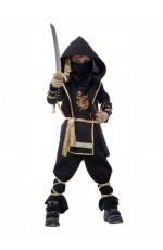 Kids Stealth Ninja Warrior Costume