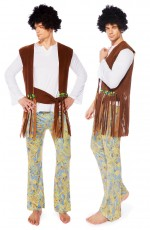 Mens Orion Hippie Costume