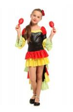 Kids Spanish Senorita Flamenco Costume