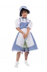 Prairie Girl Poor Victorian Maid Costume Retro Nanny Book Week Olden Days Fancy Dress