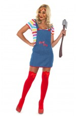 Ladies  Doll Costume Fancy Dress