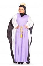 Ladies Queen Snow White Disney Fancy Dress Halloween Dress