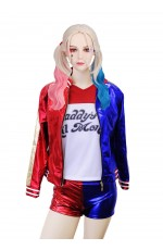 Harley Quinn Harlequin Suicide Squad Full Costume Set
